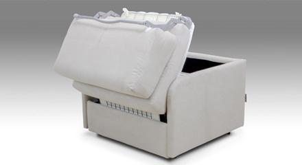 Poltrona letto in offerta. Facondini Materassi.