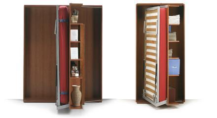 Letto a scomparsa con libreria, qualità e convenienza.